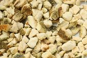stock photo of orange peel  - close up shot of fresh spice of  Orange Peel - JPG