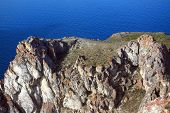foto of siberia  - Olkhon is the biggest island on Baikal lake - JPG