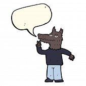 picture of werewolf  - werewolf cartoon - JPG