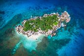 picture of playa del carmen  - Beautiful view to Seychelles Coco island - JPG