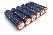 pic of solar battery  - Solar Energy Batteries  - JPG