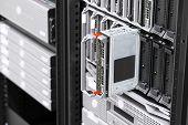 picture of enterprise  - Installation of blade servers in a enterprise data center - JPG