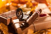 image of cigar  - Time to relax - JPG