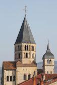 Постер, плакат: The abbey of Cluny in Burgundy