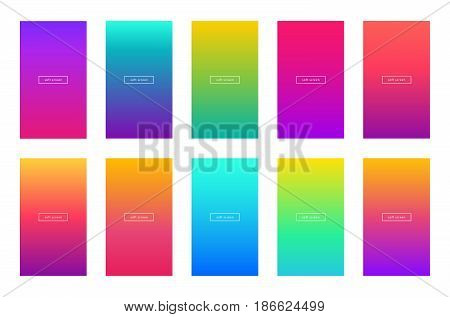 mac pages background color - soft color background screen vector mobile phone app apple