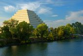 foto of ziggurat  - The Zigguart building in West Sacramento CA - JPG