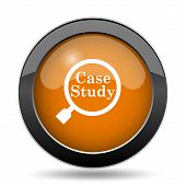 Case Study Icon poster