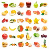 stock photo of pawpaw  - fruit collection - JPG