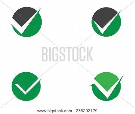 V Letter Logo Template Check