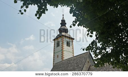 View Of The Spire Of