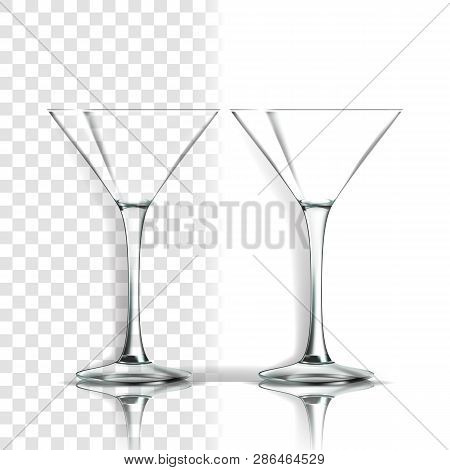 Transparent Glass Vector Classic Goblet