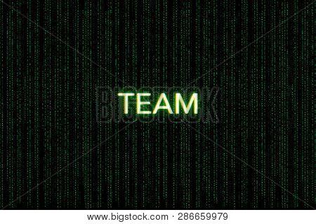 Team Keyword Of Scrum On