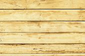 Texture Of Wooden Planks. Yellow Rustic Wood For Easter And Spring Backgrounds. Wood Plank Wall Text poster
