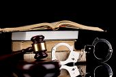 foto of handcuff  - Gavel - JPG