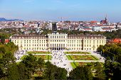 stock photo of sissi  - Schonbrunn Palace in Vienna - JPG