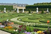 image of garden sculpture  - Royal Gardens at Herrenhausen are one of the most distinguished baroque formal gardens of Europe - JPG