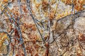 pic of freemason  - Photograph of rough cut large marble cobblestone texture - JPG