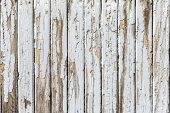 Vintage  white background of natural wood old wall