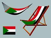 Palestine Hammock And Deck Chair Set