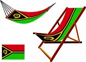 Vanuatu Hammock And Deck Chair