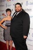 Jorge Garcia and Bethany Leigh Shady at the 28th Annual Imagen Awards, Beverly Hilton, Beverly Hills