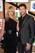 Toni Collette, Dylan McDermott at the CBS, Showtime, CW 2013 TCA Summer Stars Party, Beverly Hilton