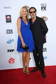 Dina Livingston and Tommy Flanagan at the