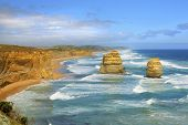 stock photo of 12 apostles  - 12 Apostles Australia seascape on the Great Ocean Road - JPG