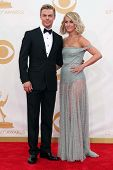 Derek Hough and Julianne Hough at the 65th Annual Primetime Emmy Awards Arrivals, Nokia Theater, Los