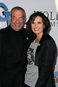 Dick Wolf and Mariska Hargitay at the Joyful Heart Foundation celebrates the No More PSA Launch, Mil