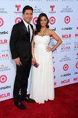 Mario Lopez and wife at the 2013 NCLR ALMA Awards Arrivals, Pasadena Civic Auditorium, Pasadena, CA