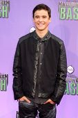 Keean Johnson at the Hub Network First Annual Halloween Bash. Barker Hangar, Santa Monica, CA 10-20-