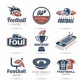 Football Icon Set - 3 poster