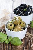 stock photo of souse  - Mixed Olives  - JPG