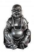 picture of budha  - Happy Budha on white background - JPG