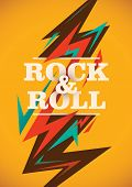 picture of revolt  - Abstract rock and roll poster - JPG