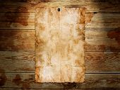image of stud  - Abstract grunge background with Old Paper On The Wood Background - JPG