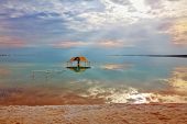 foto of gazebo  - Winter in the Dead Sea - JPG