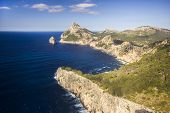 stock photo of tomas  - Breathtaking view of Cap de Formentor on Spanish Balearic Island Majorca - JPG