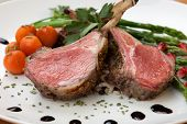 pic of crust  - Herb crusted lamb chops  - JPG