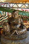 image of gautama buddha  - happy Buddha statue represent of lucky and wealthy - JPG
