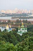 stock photo of kiev  - Panorama of the city Kiev - JPG