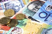 pic of year end sale  - Australian Money concept for savings spending or 30th June End of Financial Year sale. ** Note: Shallow depth of field - JPG