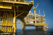 pic of offshore  - Offshore oil and gas production and exploration business - JPG