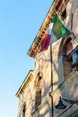 foto of ferrara  - Ancient renaissance building in the downtown of Ferrara  - JPG