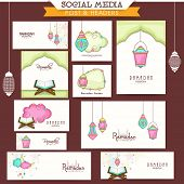 picture of muslim  - Creative social media and marketing banners - JPG