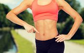 picture of six pack  - fitness - JPG