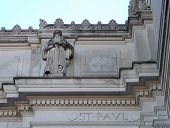 Architectural Detail Of Saint Paul poster