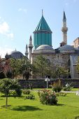 stock photo of rumi  - The convent of Mevlana in Konya  - JPG