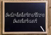 Постер, плакат: Administrative Assistant